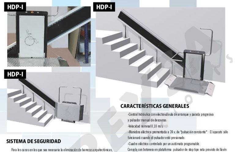 Plataforma salvaescaleras inclinada hdpi